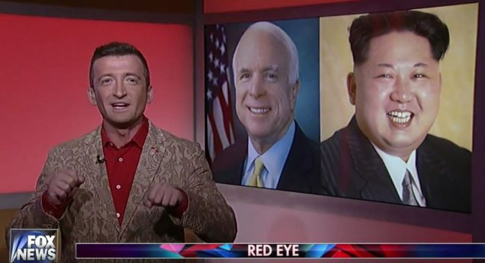 "Michael Malice Co-hosting ""Red Eye"""