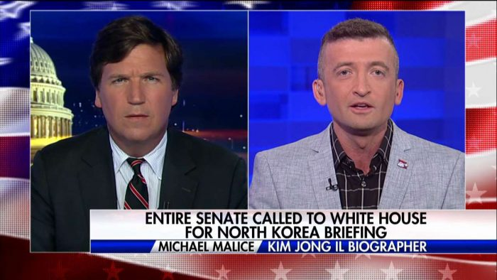 "Michael Malice On ""Tucker Carlson Tonight"""