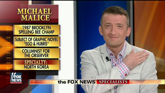 "Michael Malice On ""The Fox News Specialists"""